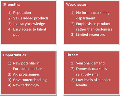reed supermarket swot If you're applying for a job in retail management, you may very well be asked to perform a swot analysis.